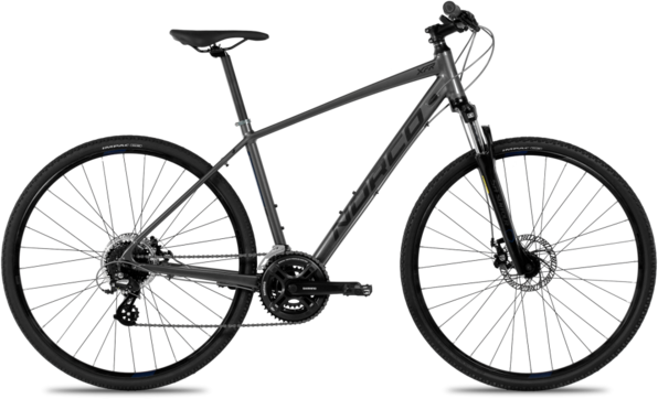 Norco XFR 4 Color: Grey/Dark Blue