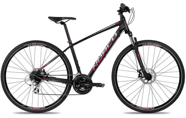Norco XFR 4 Forma Color: Black/Pink