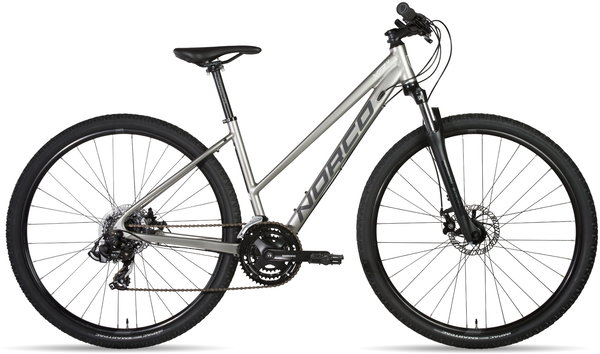 Norco XFR 4 Step-Thru Color: Silver/Yellow
