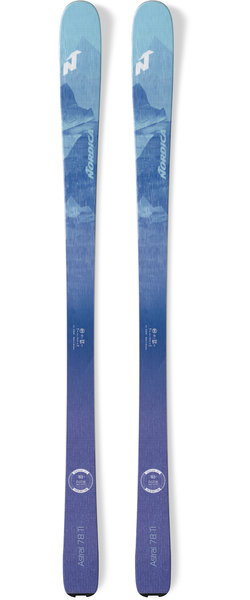 Nordica Astral 78 Color: Light Blue/Purple