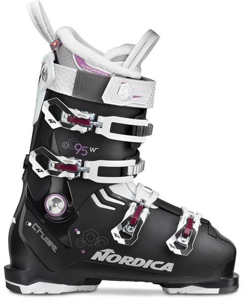 Nordica Cruise 95 W Color: Black/White/Purple