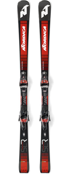 Nordica Dobermann SLR RB Color: Black/Red