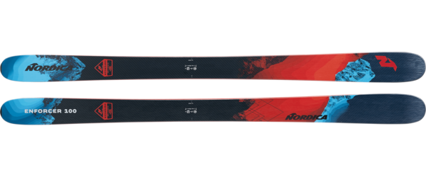 Nordica Enforcer 100 (Flat) Color: Blue/Red