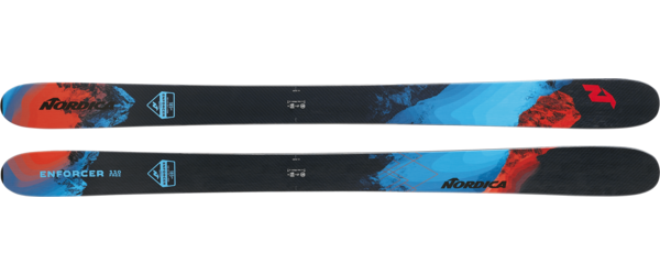 Nordica Enforcer 110 Free (Flat) Color: Black/Red/Blue