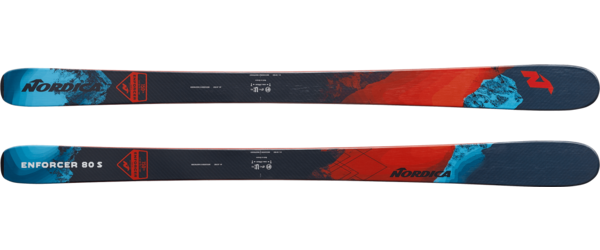 Nordica Enforcer 80 S Color: Black/Red/Blue