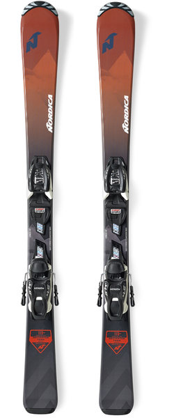 Nordica Navigator Team FDT (110-140) Color: Red/Black