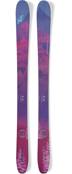 Nordica Santa Ana 95 S Color: Slate Blue/Magenta