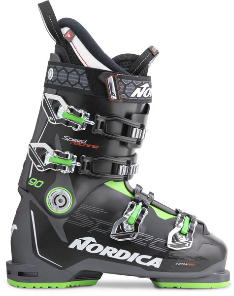 Nordica Speedmachine 90 Color: Black/Anthracite/Green