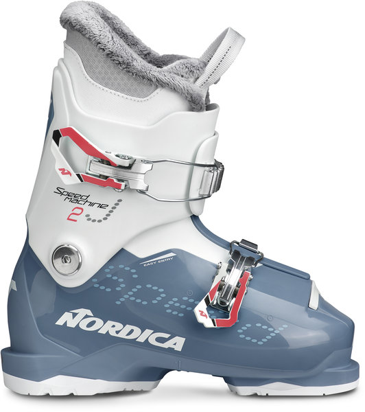 Nordica Speedmachine J 2 (Girl) Color: Light Blue/White