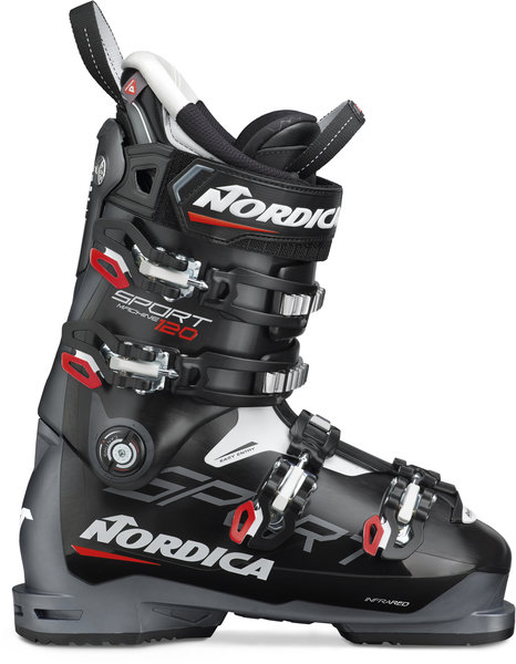 Nordica Sportmachine 120 Color: Black/Anthracite/Red