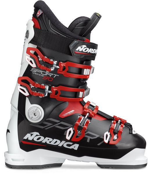 Nordica Sportmachine 90 Color: Black/White/Red