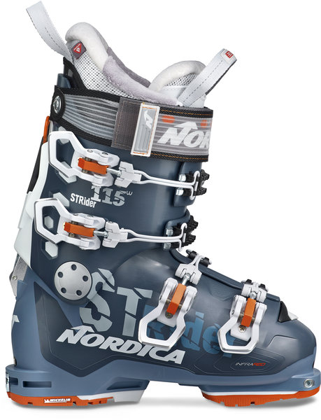 Nordica Strider 115 W DYN Color: Avio/White/Orange