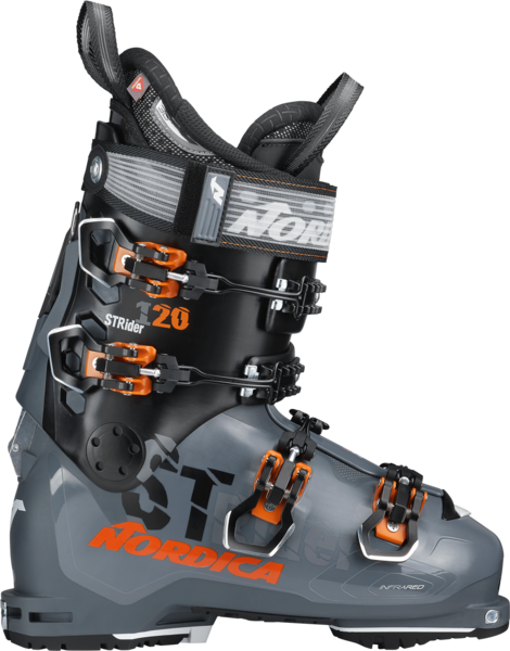 Nordica Strider 120 DYN Color: Anthracite/Black/Orange