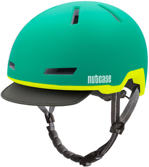 Nutcase Tracer Color: Aurora Green Matte