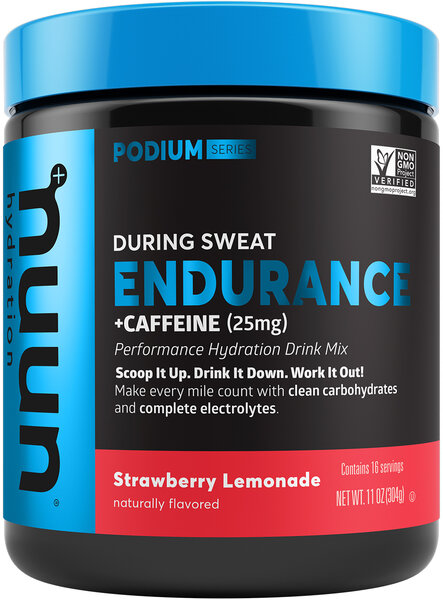 nuun Nuun Endurance - Strawberry Lemonade + Caffeine - 16 Serving