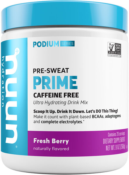 nuun Nuun Prime Flavor | Size: Fresh Berry | 20-serving