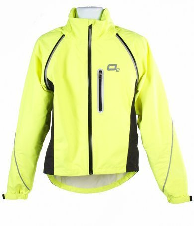 O2 Rainwear Nokomis Jacket Color: Hi-Viz Yellow