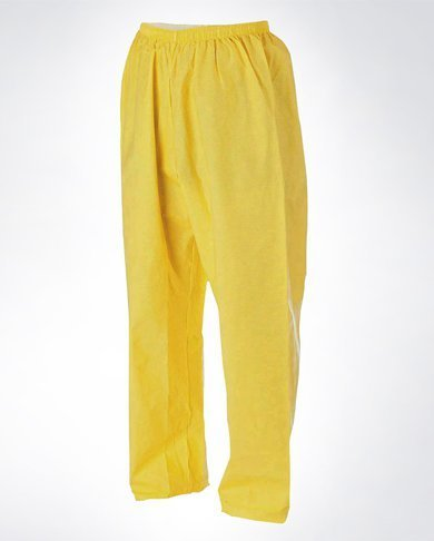 O2 Rainwear Original Pants Color: Yellow