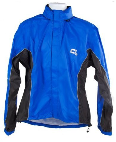 O2 Rainwear Primary Jacket Color: Blue