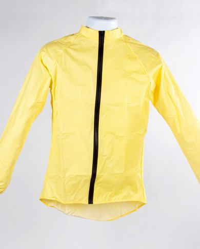 O2 Rainwear Original Cycling Jacket Color: Yellow
