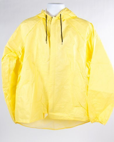 O2 Rainwear Original Hooded Jacket Color: Yellow