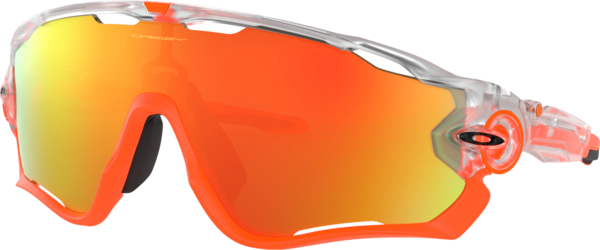 Oakley Jawbreaker Crystal Pop Color | Lens: Crystal Clear | Fire Iridium