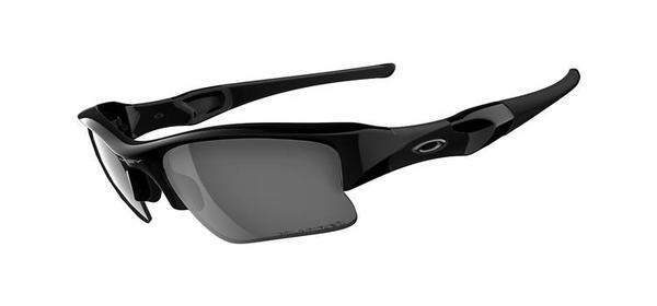 Oakley Flak Jacket XLJ w/Polarized Lenses Color | Lens: Jet Black | Black Iridium Polarized