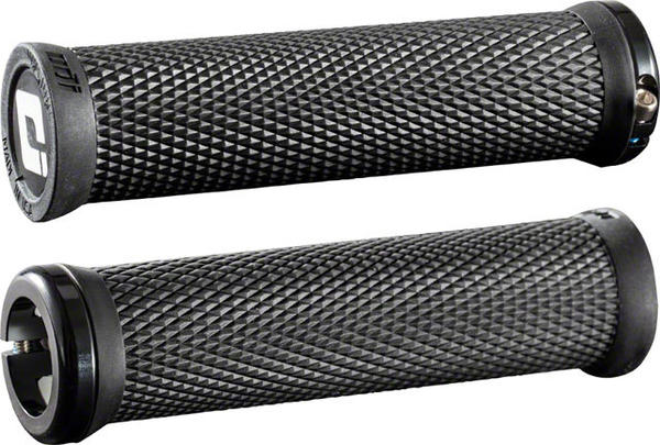 ODI Elite Motion Lock-On Grips Color | Length: Black/Black | 130mm