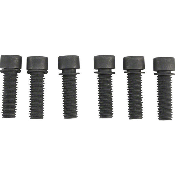 Odyssey 6 Piece Stem Bolt Set Color: Black