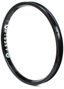 Odyssey Aerospace Rim Color: Hard Anodized Black