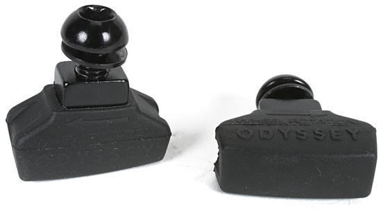 Odyssey Ghost Brake Pads Color: Black
