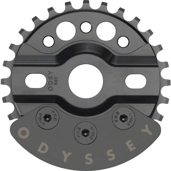 Odyssey HalfBash Sprocket w/Guard Color: Black