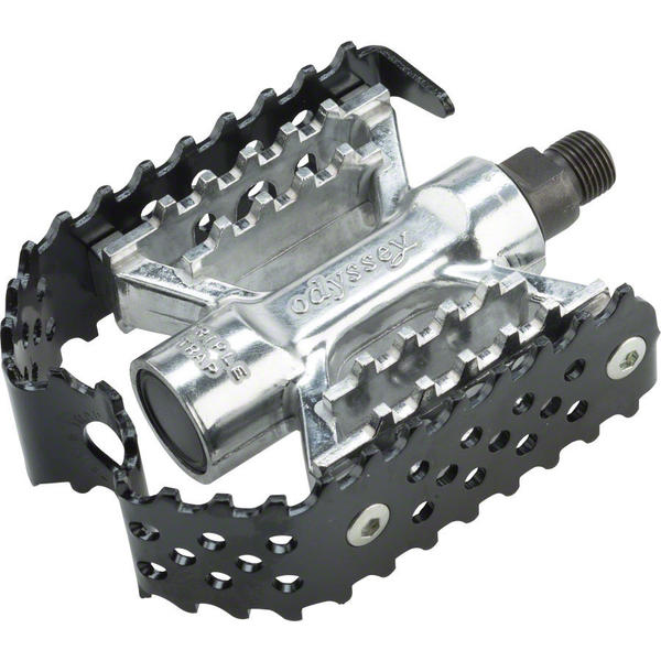 Odyssey Triple Trap Pedals Color: Black