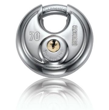 OnGuard Bullmastiff Key Padlock, Round