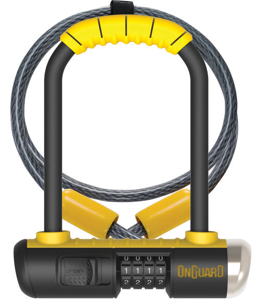 OnGuard Combo Mini U-Lock