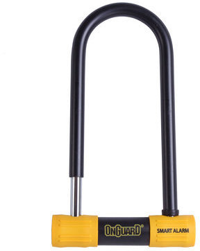 OnGuard Smart Alarm U-Lock LS Color: Black/Yellow