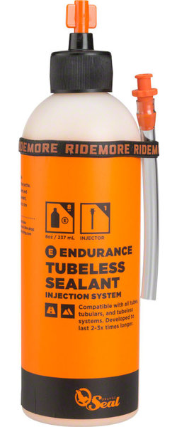 Orange Seal Endurance Tubeless Tire Sealant Model | Size: Twist Lock | 8-ounce