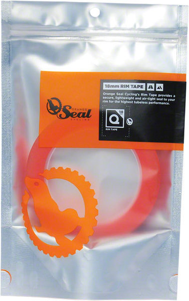 Orange Seal Rim Tape Size: 18mm x 12-yard