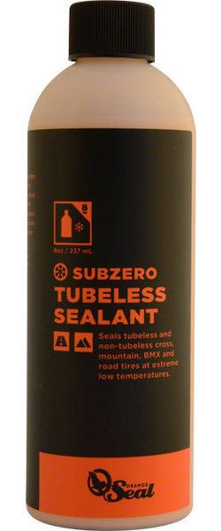 Orange Seal Subzero Tubeless Tire Sealant Size: 8-ounce
