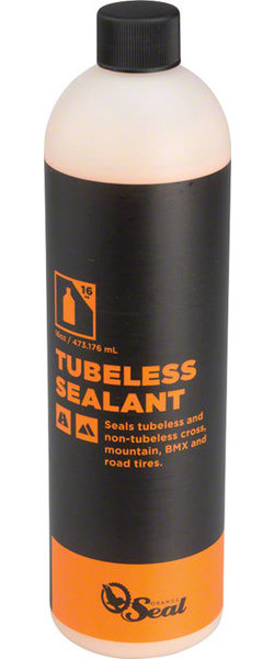 Orange Seal Tubeless Tire Sealant Model | Size: Refill | 16-ounce