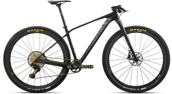 Orbea Alma M-LTD Color: Anthracite-Black