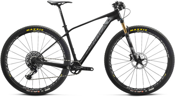 Orbea Alma M10 Color: Anthracite-Black