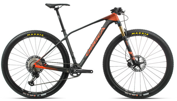 Orbea Alma M10 Color: Black/Orange