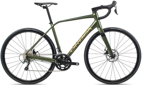 Orbea Avant H40-D Color: Military Green/Gold