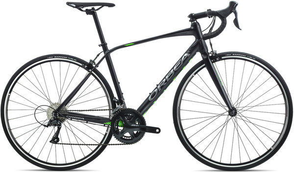 Orbea Avant H50 Color: Black-Anthracite-Green