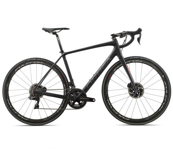 Orbea Avant M10iTeam-D Color: Black/Anthracite/Red