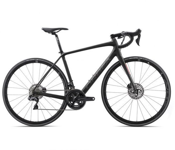 Orbea Avant M20iTeam-D Color: Black/Anthracite/Red