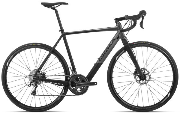 Orbea Gain D40 USA Color: Graphite-Anthracite