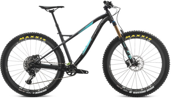 Orbea Laufey 27+ H-LTD Color: Black-Turquoise