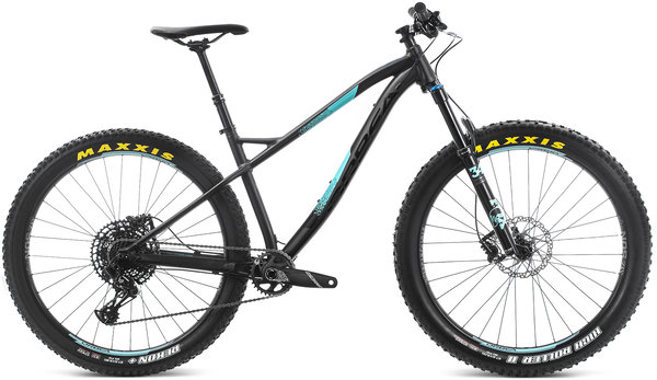 Orbea Laufey 27+ H10 Color: Black-Turquoise